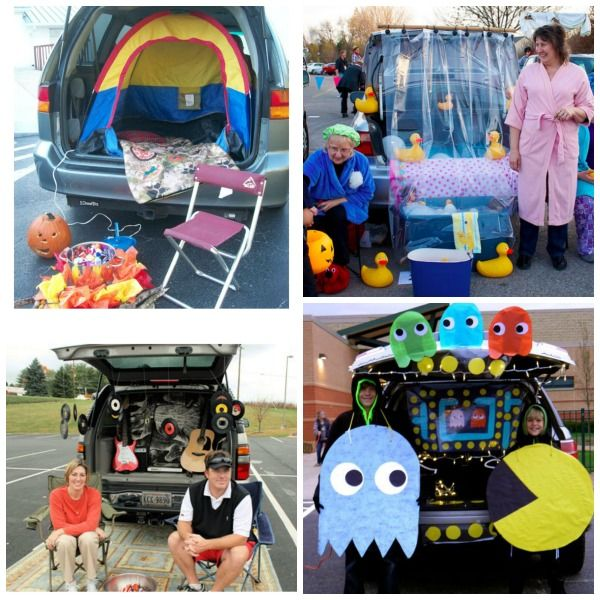 Pac Man Trunk Or Treat Ideas