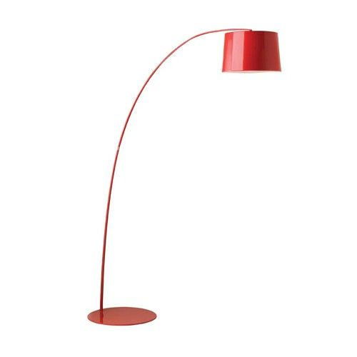 Jasper Floor Lamp- Gloss Red - Mayfield Lamps - Milan Direct