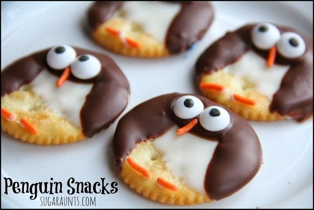 Penguin Themed Snacks
