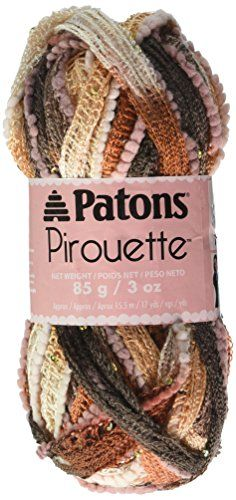 Patons Pirouette Sparkle Patons Yarn, Sienna Sparkle