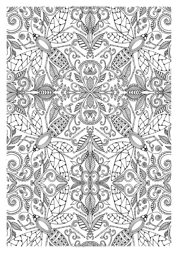 Glorious Gardens Creative Colouring For Grown Ups Amazoncouk Mandala Coloring PagesColouring PagesAdult