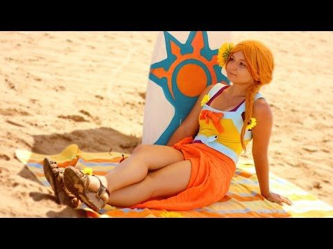 LEONA POOL PARTY COSPLAY (LEAGUE OF LEGENDS) - YouTube