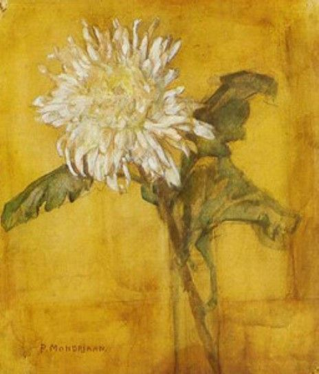 Piet Mondrian Flowers | Other works in Painting