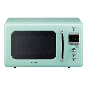 Daewoo Retro Microwave Oven in Green:  Are you color consciousness about your kitchen and want everything to stand out equally? Look no further, as this Microwave Oven will give you all those things without any worry. The Daewoo Retro Microwave Oven has 700 watts of power through which you can cook anything you want in style.