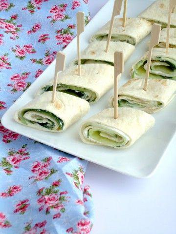 Komkommer wraps - Uit Pauline's Keuken