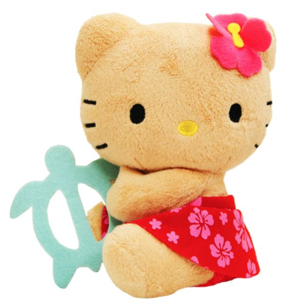 hawaii  Plush | Hawaiian Hello Kitty Plush Doll