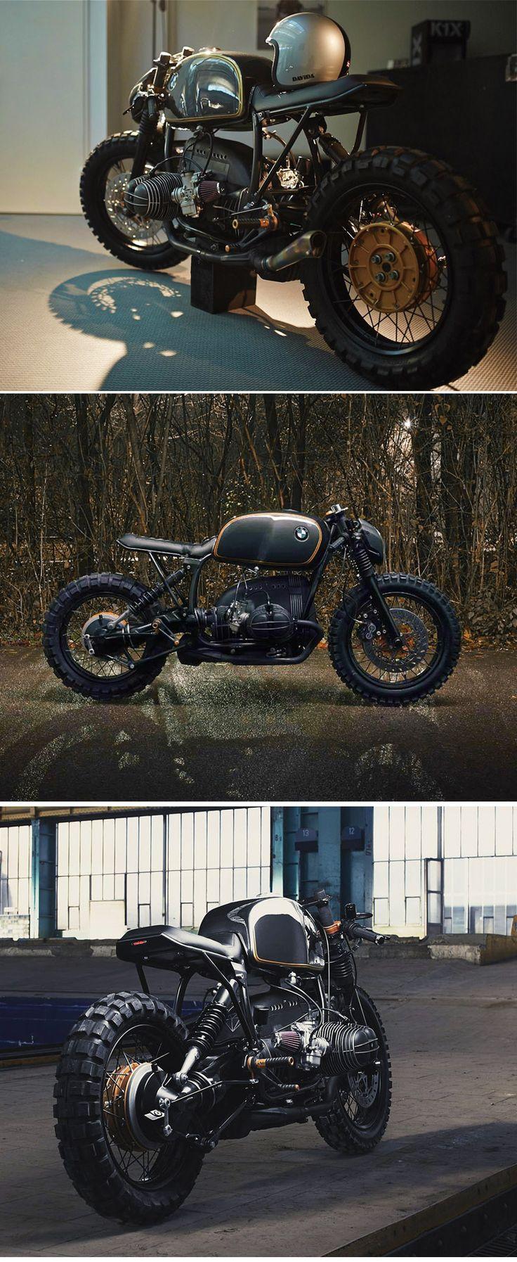 DIAMOND ATELIER'S BMW R100R            http://www.inazumacafe.com/2015/02/diamond-r100.html