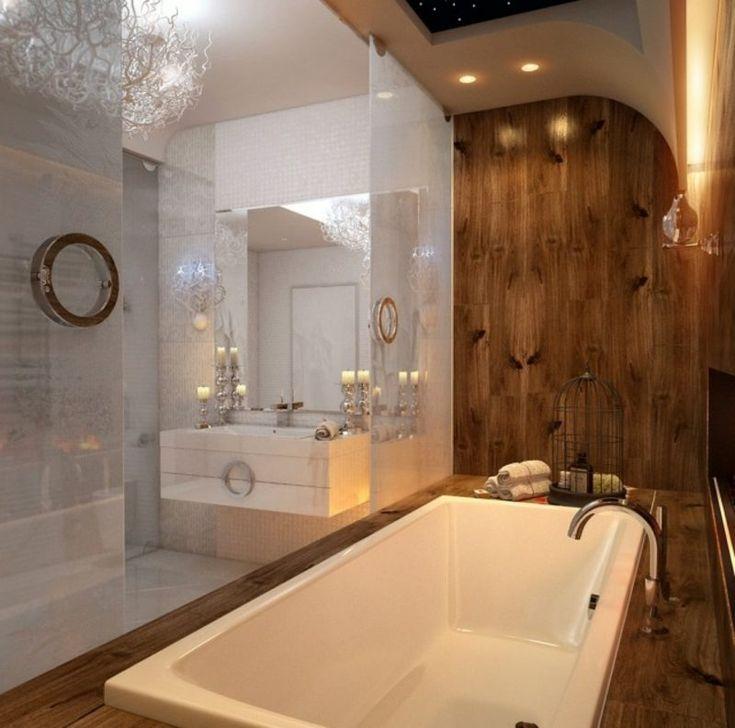 wandverkleidung holz badezimmer. Black Bedroom Furniture Sets. Home Design Ideas