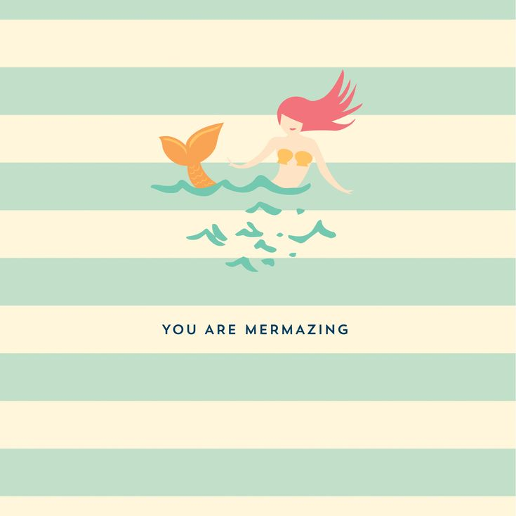 You Are Mermazing!   Spartina 449   quote   mermaid   gifts   home and office   planners   notebooks   sweet southern sayings