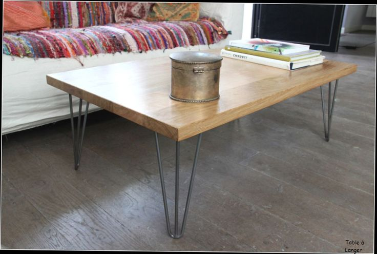 25 best ideas about table basse bois massif on pinterest - Table basse bois brut ...