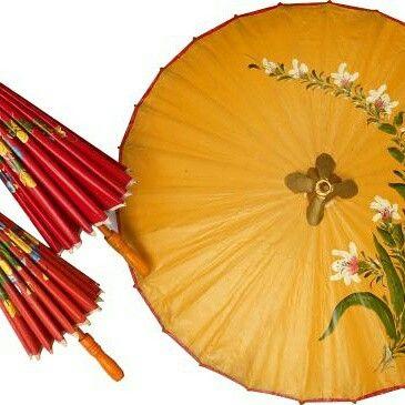 Beautiful umbrellas from Tasikmalaya, West Java, Indinesia. Payung cantik dari Tasikmalaya, Indonesia.