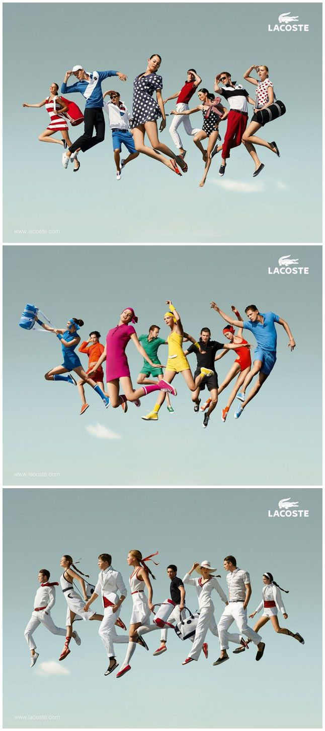 @Alicia T Lerner - We need a jumping family photo! lacoste