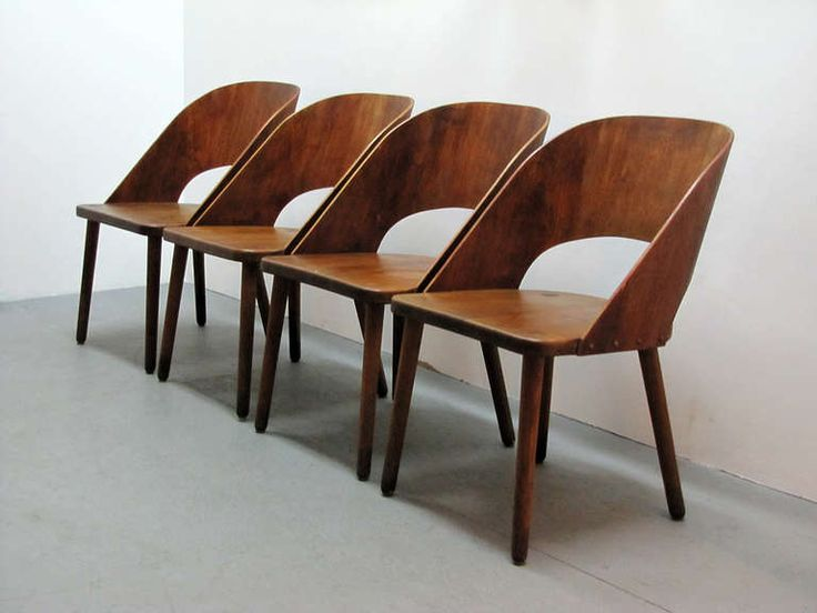Good Set Of Four Danish Teak Chairs. Denmark ...