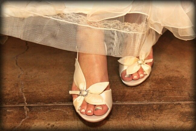 Bride shoes by Anella