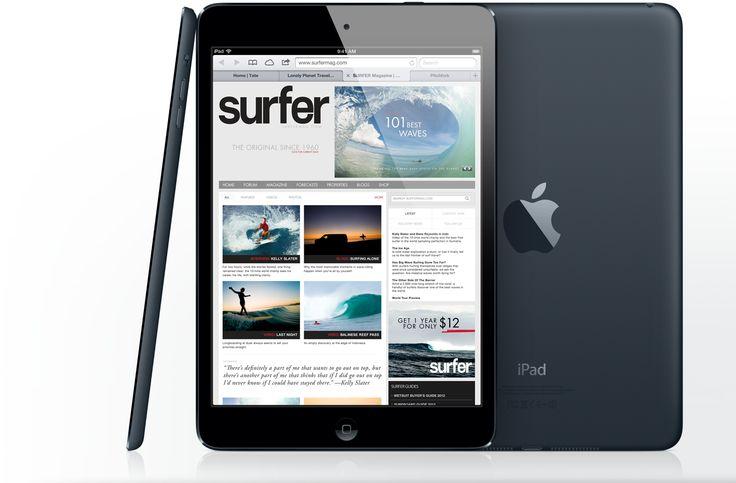 Apple - iPad mini - Every inch an iPad    so practical, so portable