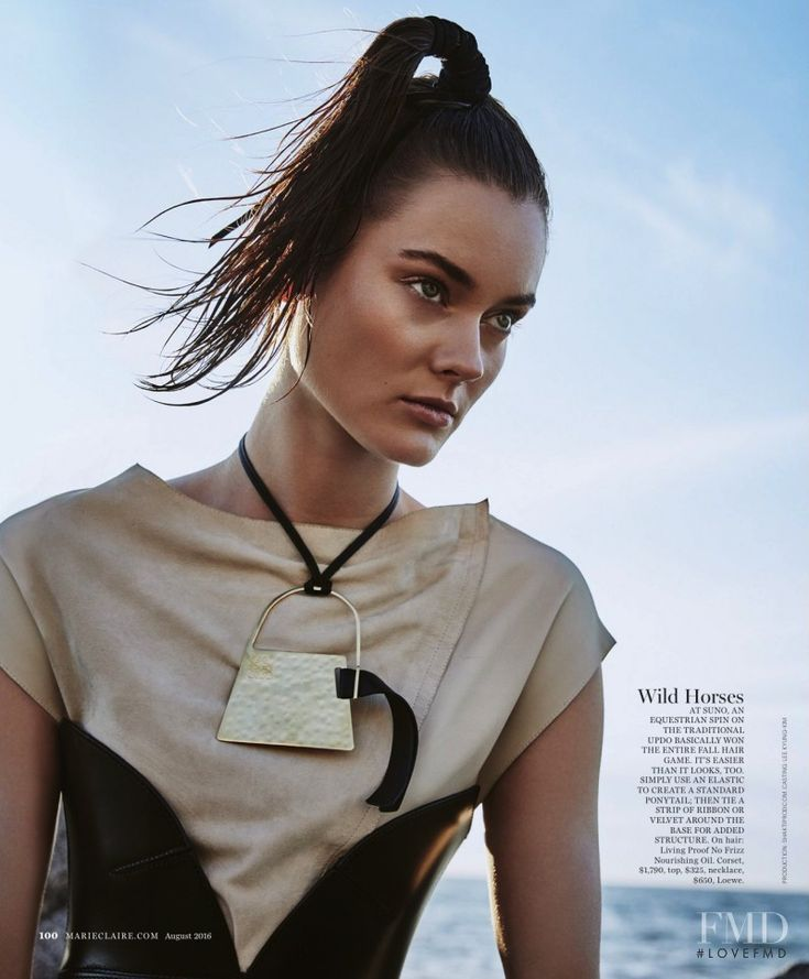 Free Spirit in Marie Claire USA with Monika Jagaciak - (ID:35522) - Fashion Editorial | Magazines | The FMD #lovefmd