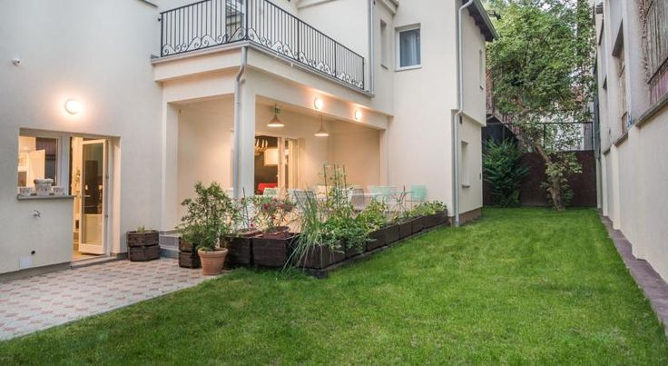 Take a look at our hidden garden. You will find many different vegetables and plants that we grow and serve for our unique breakfast #CasaBlanca #Croatia #Zagreb #interior #exterior #rooms