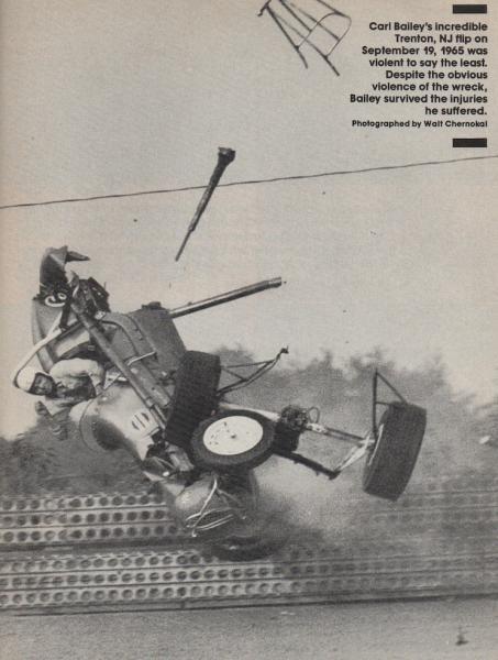 Vintage Sprint Car Crashes   Location: Ponte Vedra Beach, FL
