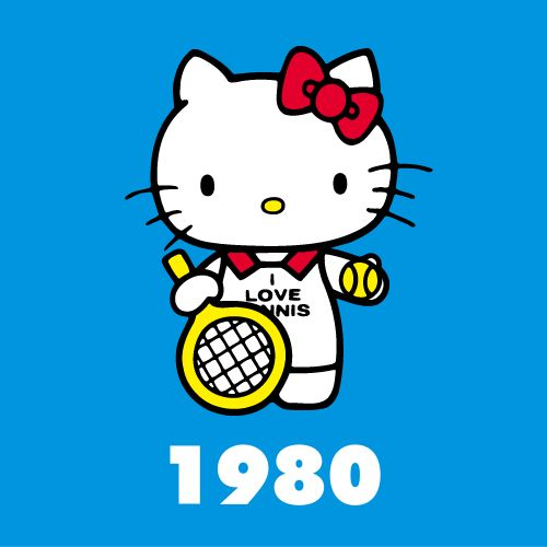 Hello kitty through the years 1980