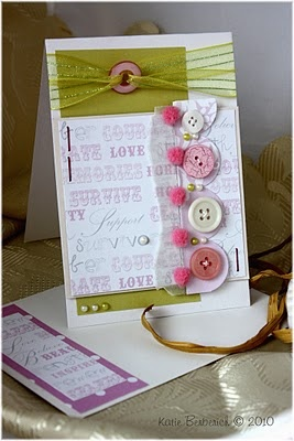Think Pink Card by Katie Berberich
