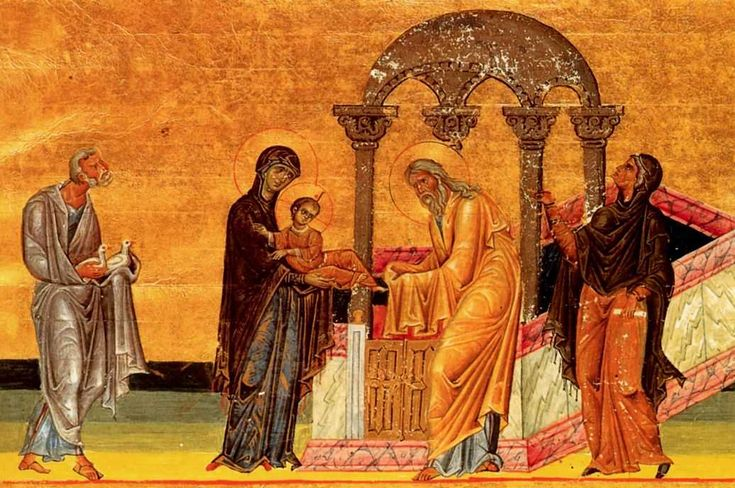 The Presentation of Jesus at the Temple - February 2