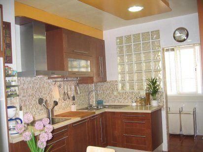 Fregadero en la esquina cocinas pinterest ideas para for Fabrica de cocinas madrid