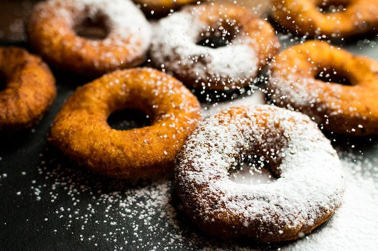 Polish traditional baked goodies. Similar to donut but with cream cheese.