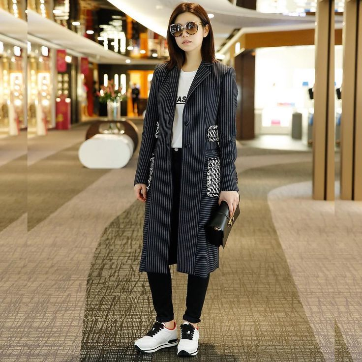 Michelle Chen Yan Xi wearing #HOGAN #SS16 #H222 #sneakers Join the #HoganClub #lifestyle and share with us your @hoganbrand pictures on Instagram