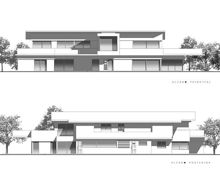 Alzados arquitectura buscar con google detalles - Alzado arquitectura ...
