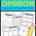 To introduce opinion writing first the children must understand the difference of fact vs. opinion. I have created a pocket chart sort you can do a...