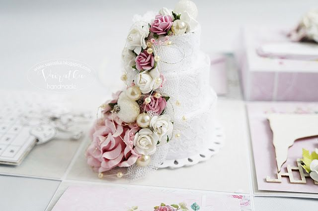 Vairatka Handmade: Romantyczny box ślubny