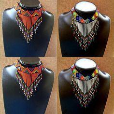 Zulu perles collier tour de cou lustres par ZuluBeads sur Etsy