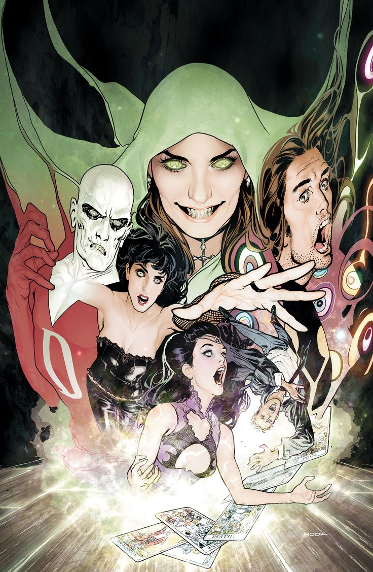 JUSTICE LEAGUE DARK VOL. 1: IN THE DARK | DC Comics