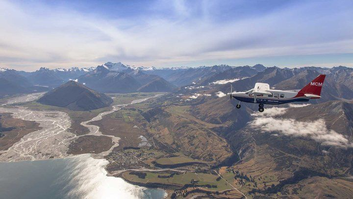 Milford Sound Flightseeing - Real Journeys