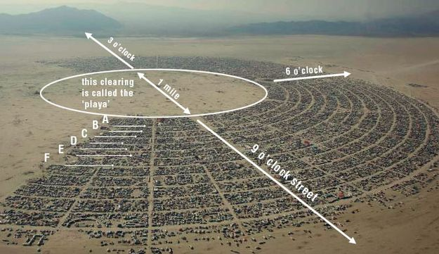 Every year. Black Rock City (the festival's temporary town) becomes Nevada's third biggest city. | 55 Things I Learned At Burning Man