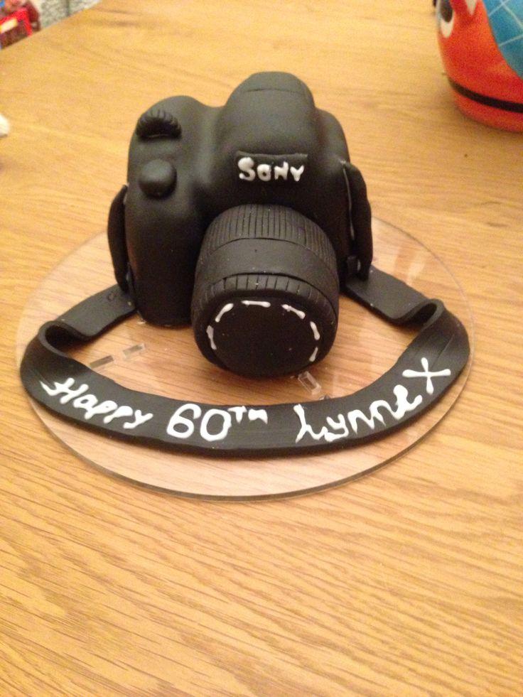 Sony camera cake
