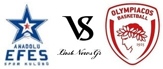 Efes Pilsen - Olympiakos Live Streaming 19/10/2012 (20:00)