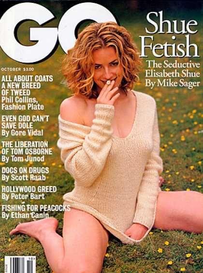 Elisabeth Shue - GQ October 1996