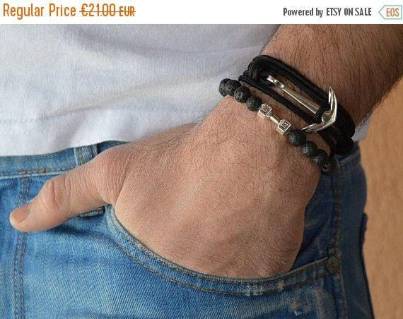 ON SALE men's bracelets motivation bracelets fitness bracelets black lava stone bracelets bracelet power Live LIft bracelet charm bracelets