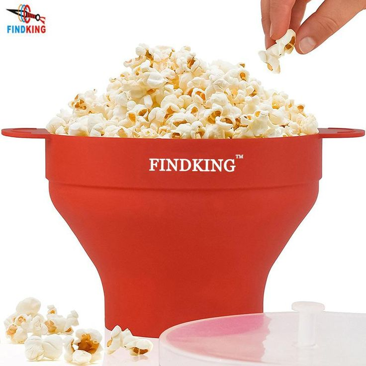 High Quality Collapsible Silicone Microwave Popcorn Popper Bowl