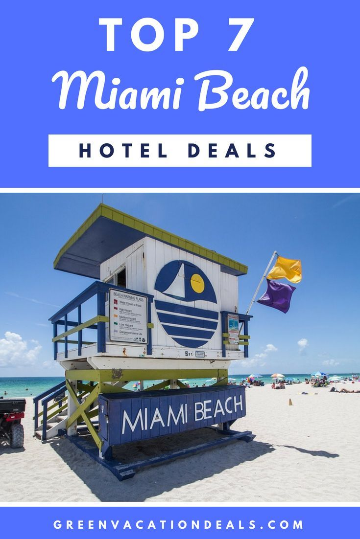 Top 20 Miami Beach Florida Hotel Deals (With images)  Florida