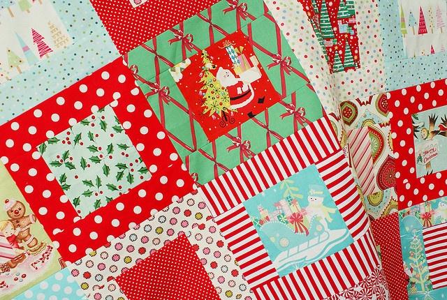 Christmas quilt by nanaCompany