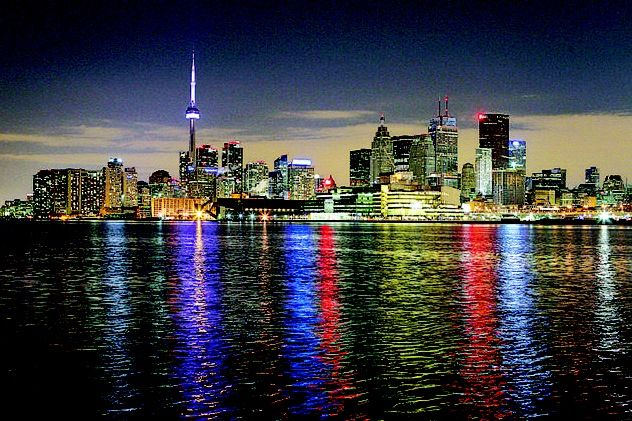 Toronto, Canada with mom and sister watching broadway shows
