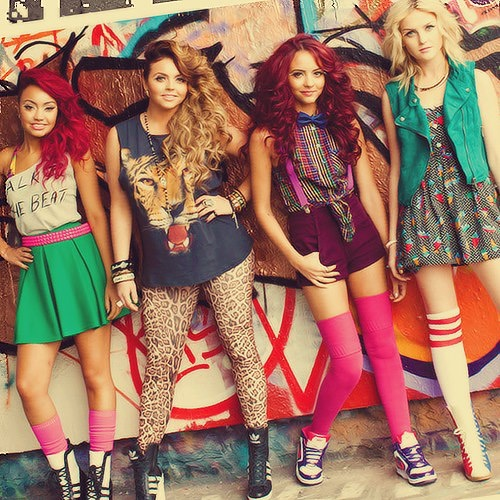 Little Mix... Grace & Faith love this band, they are very good role models for young girls and teens. Also are all great singers and have good music.