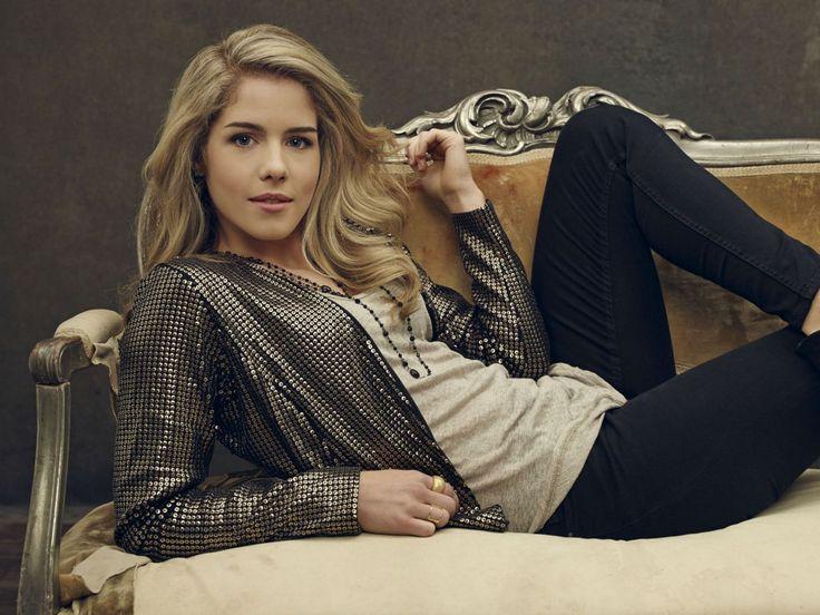 Emily Bett Rickards - Arrow TV Series Season 2 Promo Shoot 2014