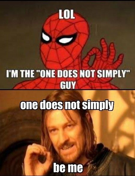 Funny Not Meme : Best images about one does not simply meme on pinterest