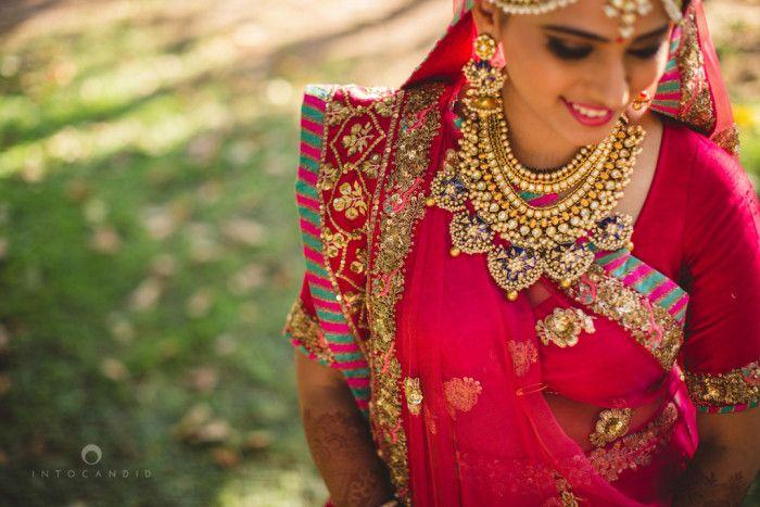 Jewellery - The Gorgeous Bride! Photos, Hindu Culture, Beige Color, Bridal Makeup, Antique Jewellery, Polki Kundan Jewellery pictures, images, WeddingPlz