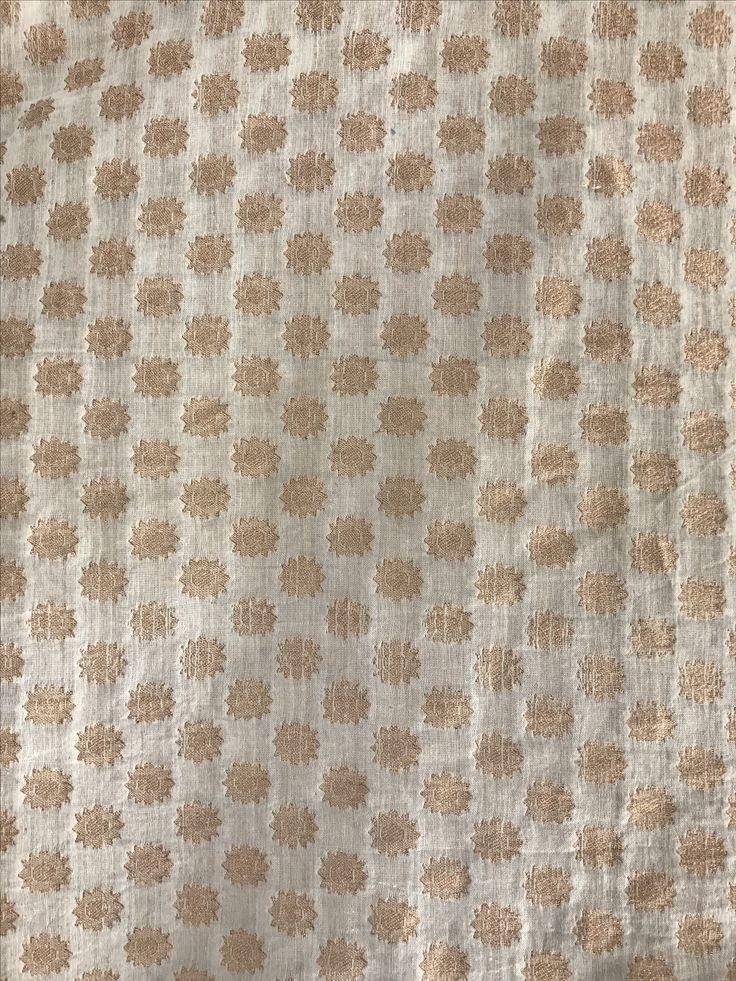 Small butta fabric