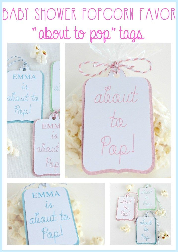 pop baby shower popcorn favor tags hymns and verses more sweet showers