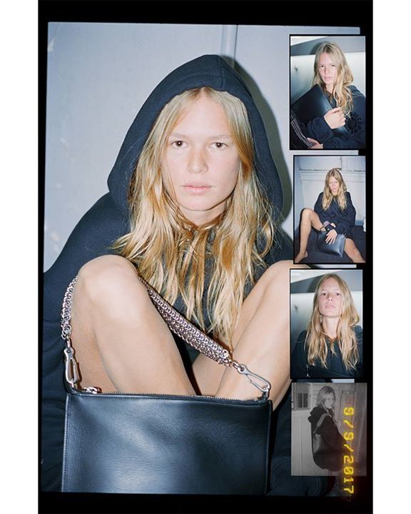 #AlexanderWang - Photographed backstage at the Spring 2018 show by Dexter Navy: #KendallJenner, #AnnaEwers, #BellaHadid, #StellaLucia, #KaiaGerber, #SukiWaterhouse, EZ, #HanneGabyOdiele and #水原希子 #KikoMizuhara.